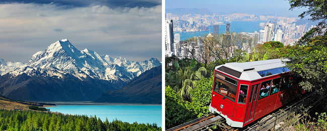5* Cathay Pacific 2 in 1: Stockholm to both New Zealand & Hong Kong for just €739!