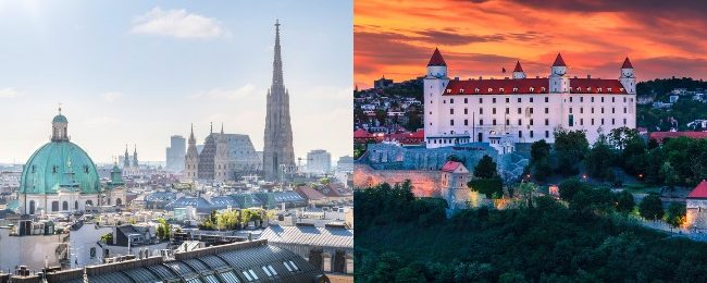 Cheap bus tickets from Bratislava to Vienna or vice-versa for only €1 each way!