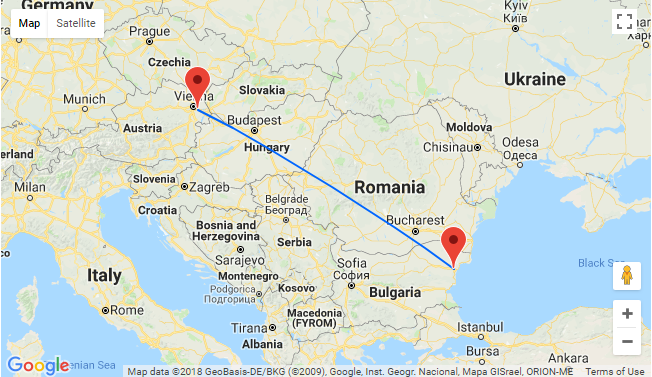 May Cheap Flights From Vienna To Black Sea For Only 19 98