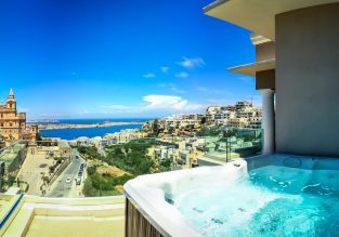 Double room at well-rated 4* hotel in Malta for only €23! (€11.5/ $13 pp)