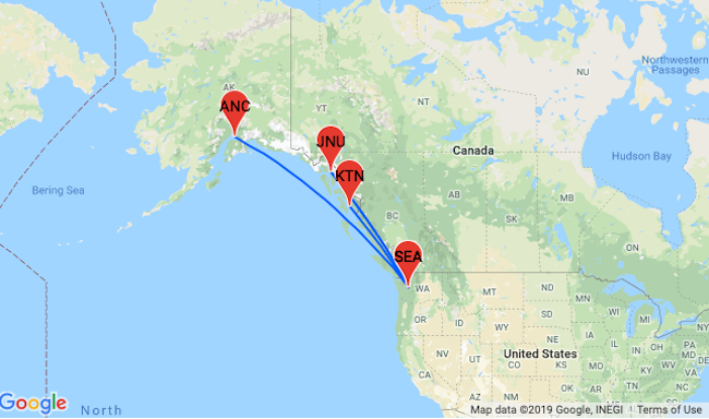 PEAK SUMMER! Cheap non-stop flights from Seattle to Alaska from only ...