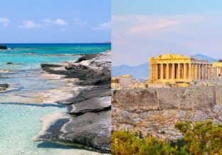 June & July! Crete and Athens in one trip from Sofia for €43!