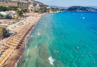 7 nights at well-rated & beachfront hotel in Peloponnese region + cheap flights from Germany from just €120!