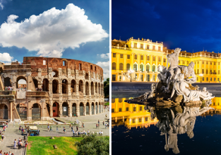 Cheap flights from Vienna to Rome and vice versa for only €19.98!