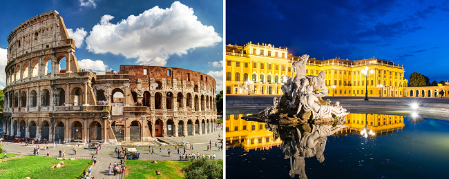 Summer! Cheap flights from Vienna to Rome and vice versa for only €19.98!