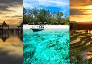 5* Singapore Airlines & SilkAir: Cheap full-service flights from Singapore to Lombok, Surabaya or Bali from $145!