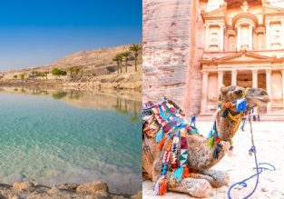 Discover Jordan! 11-night trip to the Dead Sea, Red Sea, Wadi Rum Desert, Petra and Amman + flights from Vilnius and car rental for €288!