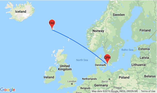 Peak Summer, Xmas and NYE: Cheap flights from Copenhagen to Faroe ...