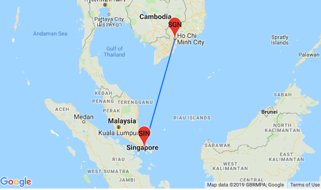 Cheap high season flights from Singapore to Ho Chi Minh, Vietnam and ...