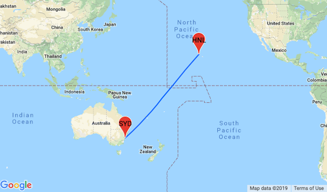 Cheap Non Stop Flights From Melbourne Or Sydney To Hawaii
