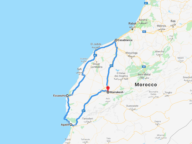 Morocco roadtrip! 11 nights in Agadir, Essaouira, Casablanca and ...