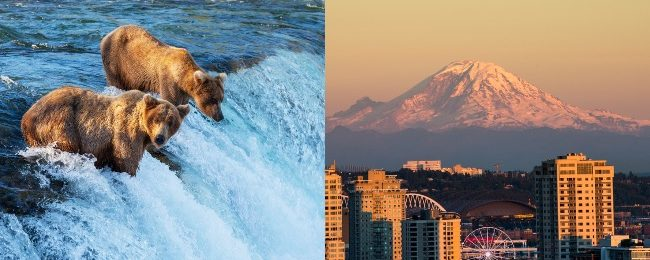 Late Summer! Alaska and Seattle in one trip from London for £398!