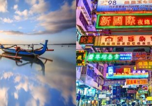 Bali and Hong Kong in one trip from San Francisco for $539!