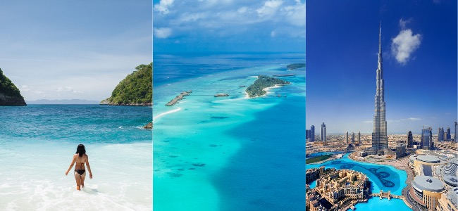 Maldives And Dubai Package Deal