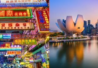 Hong Kong and Singapore in one trip from California from only $478!