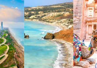Summer! Israel, Cyprus and Jordan in one trip from Romania or Lithuania from only €45!