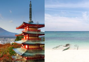 Cheap non-stop flights from Philippines to Japan and vice-versa from only $96!