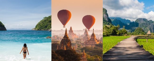 Discover Southeast Asia! Thailand, Vietnam, Malaysia, Indonesia, Cambodia, Laos and Myanmar in one trip from London for £599!