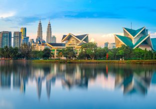 Cheap flights from Istanbul to Kuala Lumpur, Malaysia for only €331!