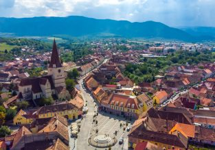 Late Summer! Cheap flights from Belgium, Germany or Switzerland to the heart of Transylvania, Romania from just €19.98!