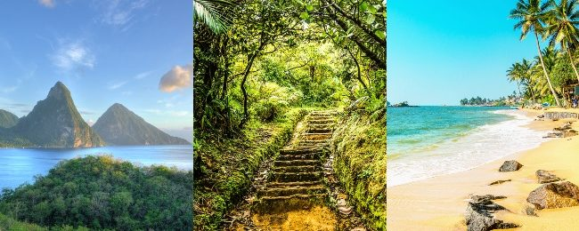 JULY! Caribbean Island hopper from London for £419! Visit St. Lucia, Dominica and Martinique!