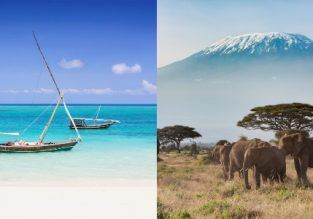 Zanzibar and Kilimanjaro in one trip from Brussels for €357!