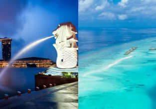 Singapore and Maldives in one trip from Germany for only €397!