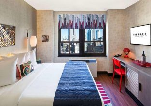4* The Paul Hotel NYC-Chelsea in Midtown Manhattan, New York for only €81/night! (€40.5/ $45 pp)