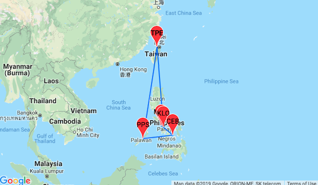 Philippines Island Hopper From Taiwan For 132 Visit Panay
