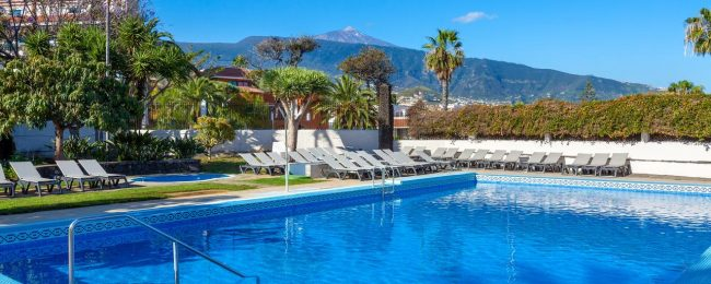 Peak summer! 4* Hotel Weare La Paz in Tenerife, Canary Islands for only €46! (€23/$26 per person)