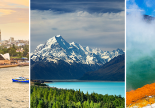 Australia & New Zealand combo! London to Sydney, Christchurch, Wellington and Auckland in one trip for £591!