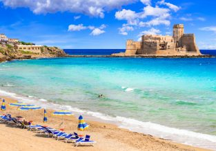 PEAK SUMMER! Double room at top-rated 4* hotel in Calabria, Southern Italy for just €44! (€22 pp)