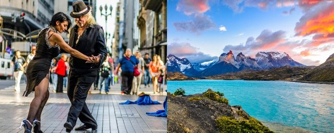 Cheap non-stop flights from Spain to Argentina, returning from Chile from only €287!