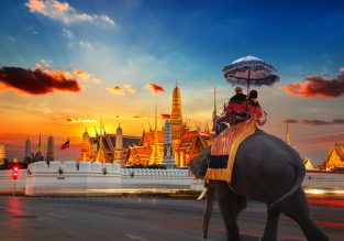 Cheap full-service flights from Baltics to Bangkok from just €414!