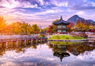 X-mas! 5* Asiana flights from Tokyo to Seoul for only $184!
