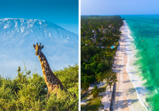 Discover wild Tanzania! Kilimanjaro, Zanzibar and Dar Es Salaam in one trip from Dublin for €438!
