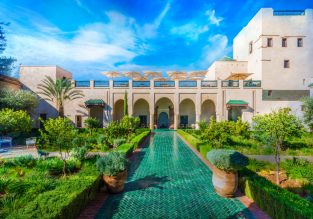5-night stay in well-rated & central riad in Marrakech +direct flights from Geneva only for €96!