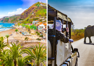 2 in 1: Madeira and South Africa in one trip from Basel for only €390!