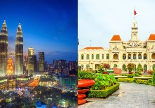 Cheap flights from Ho Chi Minh, Vietnam to Kuala Lumpur, Malaysia and vice-versa from only $59!