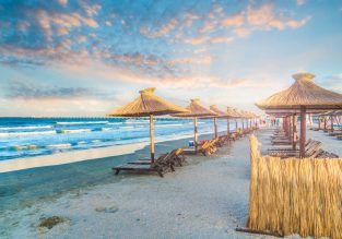 Summertime on the Black Sea! 8 nights at the Romanian beach resort of Mamaia + flights from London for £130!