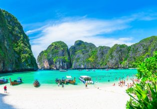 High season! Double room at very well-rated 4* hotel in Krabi for only €26/night! (€13/ $15 per person)