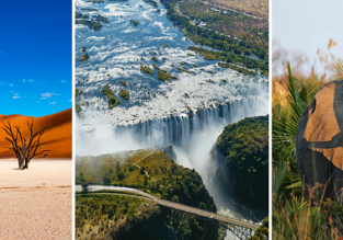 Across South Africa, Namibia, Zimbabwe and Botswana! 7 destinations in one trip from Dublin for €747!