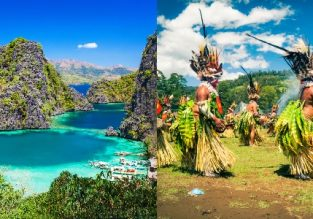 Philippines and mega exotic Papua New Guinea in one trip from several European cities from €615!
