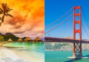 Late Summer! Exotic French Polynesia and California in one trip from Sweden for €731!