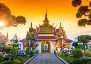 4* China Airlines non-stop flights from Taiwan to Bangkok, Thailand for only $171!