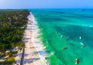 Zanzibar getaway! 7-night B&B stay at top-rated 4* beach resort + 5* Qatar Airways flights from Venice for €552!