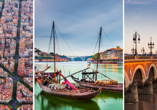 4 in 1! Trip across France, Spain and Portugal from London for just £63!