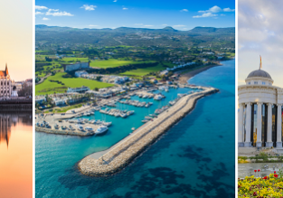 Cyprus, North Macedonia and Hungary in one trip from Berlin for just €75!