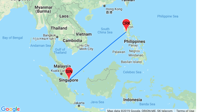 Cheap flights from Singapore to the Philippines for only $87!