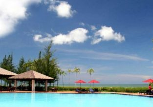 High Season and Xmas! Premier room in luxurious 5* Marriott Resort & Spa in Borneo for only €30.50 / $34.50 per person!